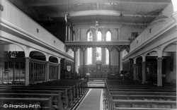 New Mills, The Church Interior c.1960