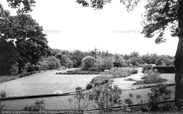 New Mills, the Park c1960