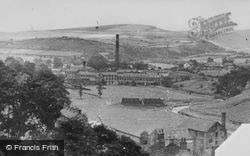 New Mills, The Valley c.1955