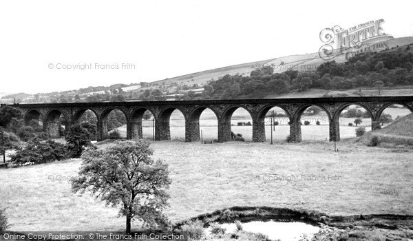 New Mills, the Viaduct c1960