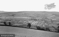 New Mills, View From Eaves Knoll c.1955