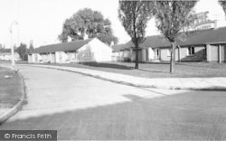 Old Folks Bungalows, Styon Green c.1965, New Parks