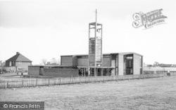 St Aidan's Church c.1965, New Parks