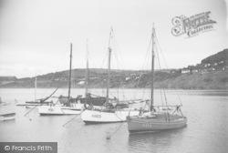 New Quay, At Anchor c.1950