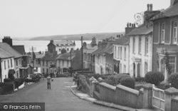 New Quay, Church Street c.1950