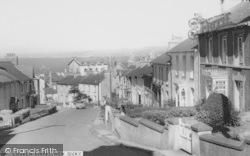 New Quay, Church Street c.1960