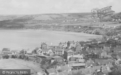 New Quay, From Pencraig c.1950