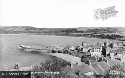 New Quay, From Pencraig c.1960