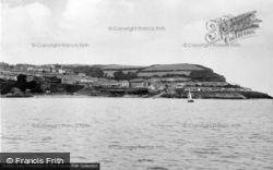 New Quay, From The Sea c.1960