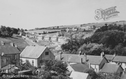 New Quay, General View c.1950