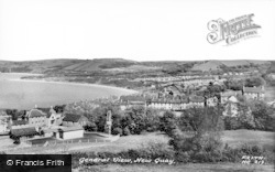 New Quay, General View c.1960