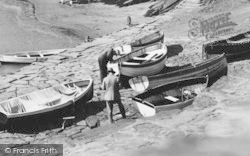 New Quay, Rowing Boats c.1933