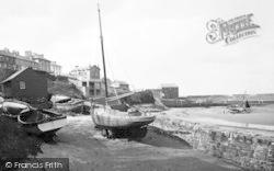 New Quay, The Beach c.1939