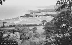 New Quay, The Caravan Site c.1960