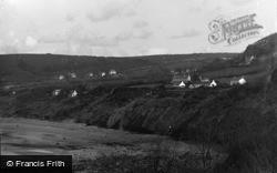 New Quay, The Cliffs 1939