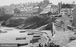 New Quay, The Harbour And Quay c.1955