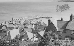 New Quay, The Harbour c.1950