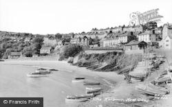 New Quay, The Harbour c.1960