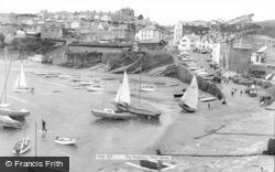 New Quay, The Harbour c.1965