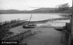New Quay, The Sands And Cliffs 1939