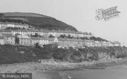 New Quay, The Terraces c.1950