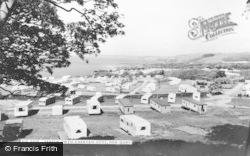 New Quay, Treath Gwyn Caravan Sites c.1960