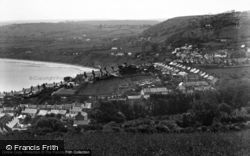 New Quay, View From Signal Station c.1933
