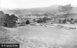 New Radnor, And Wimble Hill c.1932