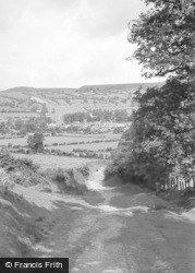 New Radnor, From The South 1950