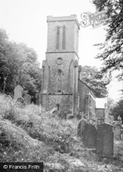 St Mary's Church c.1950, New Radnor