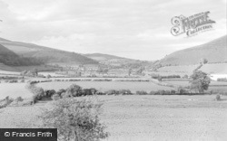 New Radnor, The Valley Above 1950