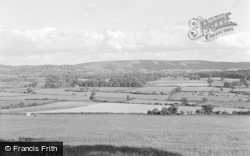 New Radnor, The Valley Below 1950