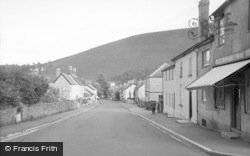 New Radnor, The Village 1950