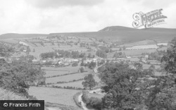 New Radnor, View From The Smatcher 1950