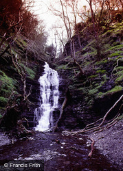 Water-Break-Its-Neck Falls 1990, New Radnor