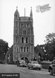 St Nicholas Parish Church c.1960, New Romney