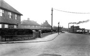 New Rossington, the Colliery, West End Lane c1955