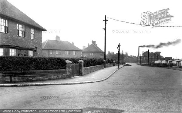 Photo of New Rossington, the Colliery, West End Lane c1955