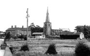 New Sawley, the Church c1967