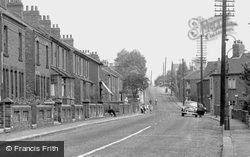 Handley Road c.1960, New Whittington