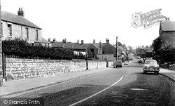 High Street c.1960, New Whittington