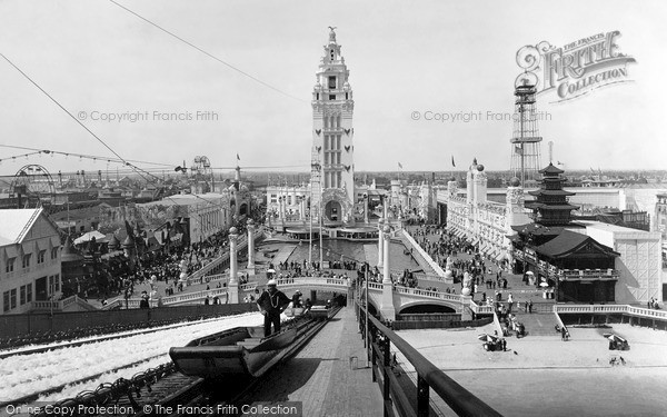 Photo of New York, Coney Island, Dreamland From The Chutes 1904