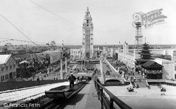 Coney Island, Dreamland From The Chutes 1904, New York