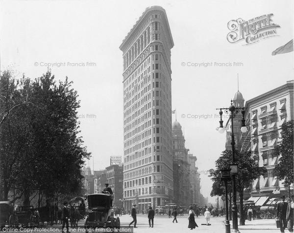 Photo of New York, Flatiron Building 1902