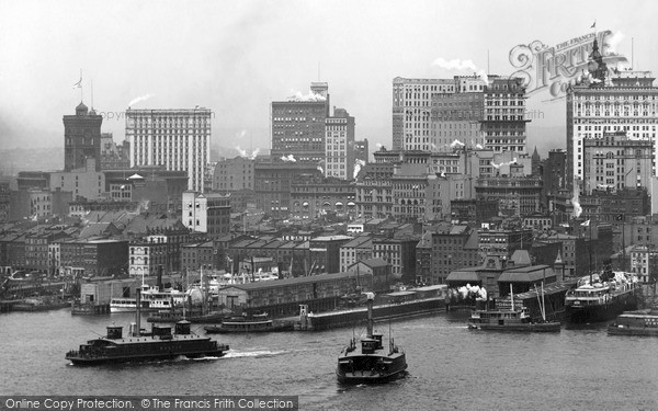 Photo of New York, From East River 1902