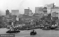 From East River 1902, New York