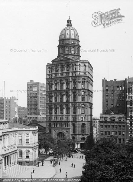 Photo of New York, Pulitzer Building 1895