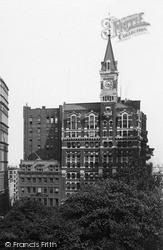 New York, Tribune Building 1895