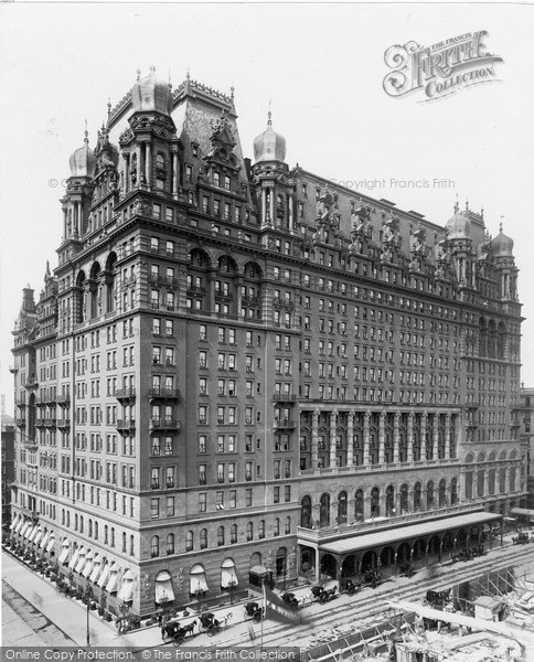 Photo of New York, Wardorf Hotel On 5th Avenue c.1900