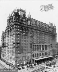 Wardorf Hotel On 5th Avenue c.1900, New York